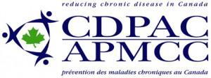 Bilingual logo CDPAC