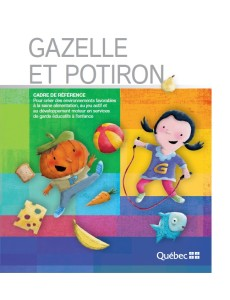 Gazelle et potiron cover page